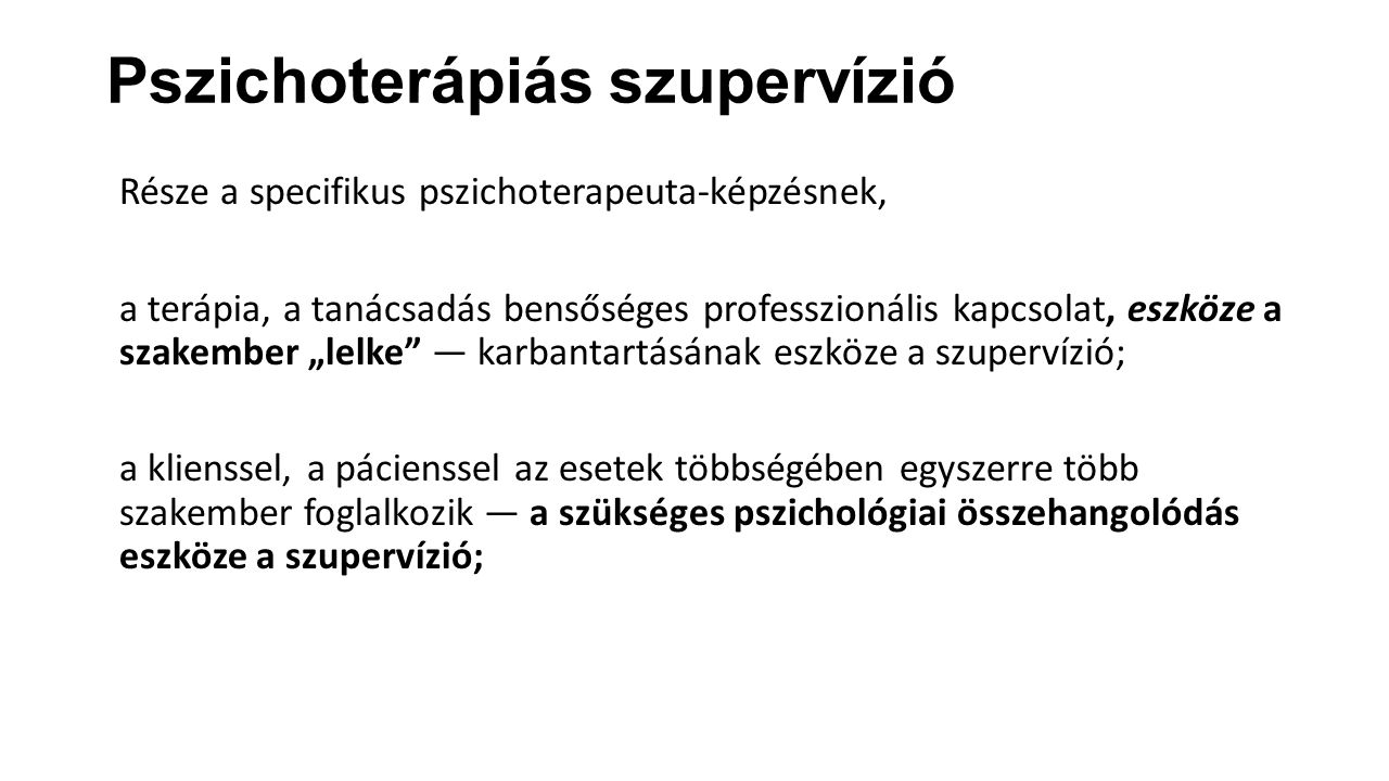 Pszichoterápiás szupervízió
