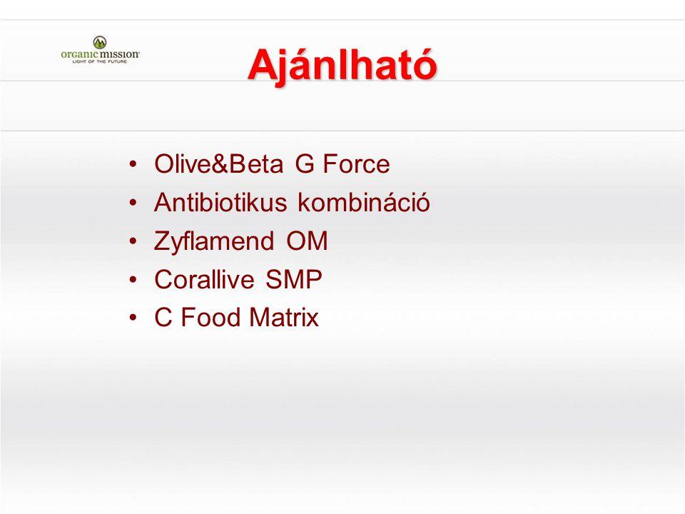 Ajánlható Olive&Beta G Force Antibiotikus kombináció Zyflamend OM