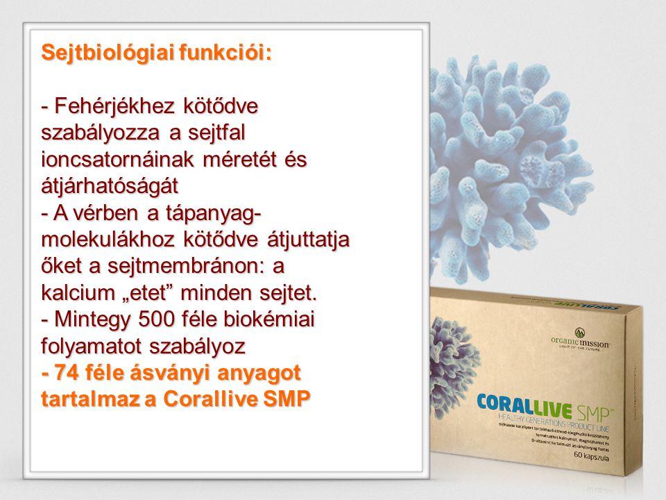 Sejtbiológiai funkciói: