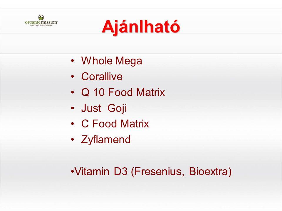 Ajánlható Whole Mega Corallive Q 10 Food Matrix Just Goji