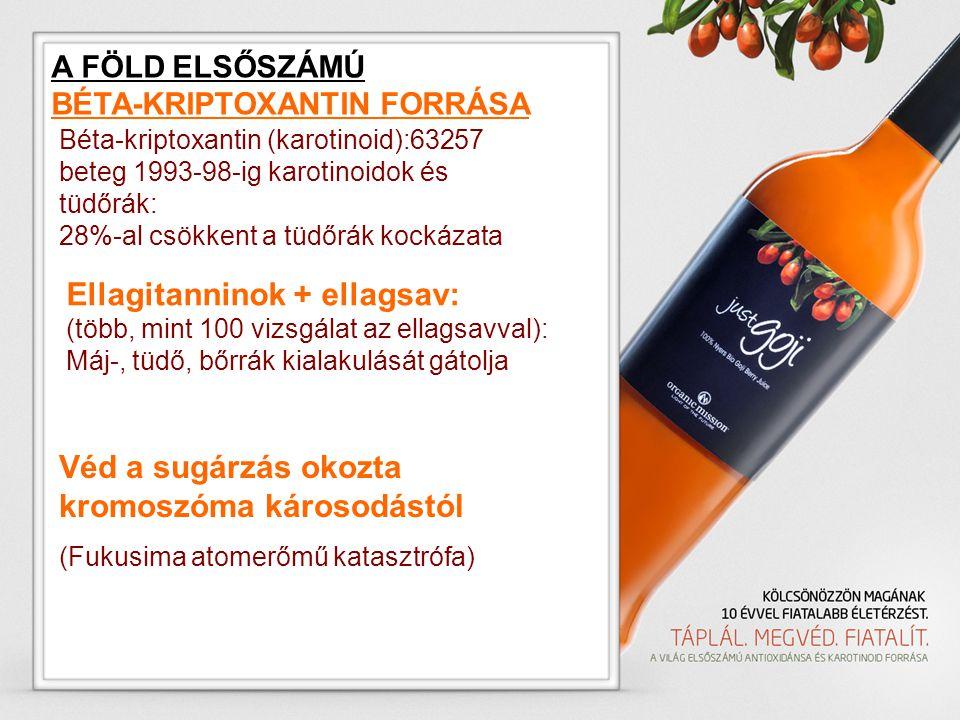 Ellagitanninok + ellagsav: