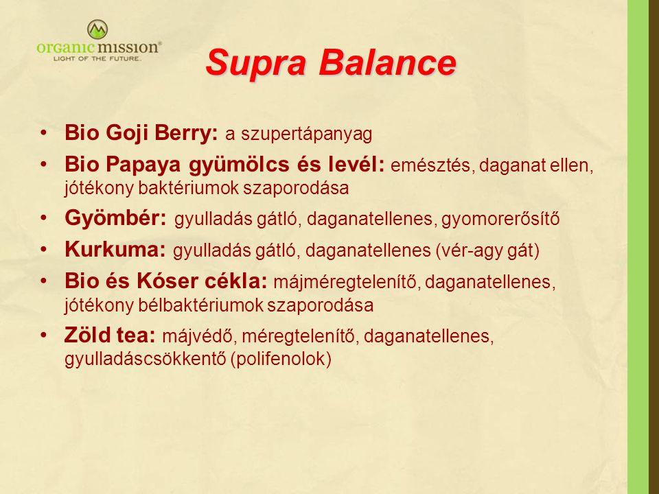 Supra Balance Bio Goji Berry: a szupertápanyag