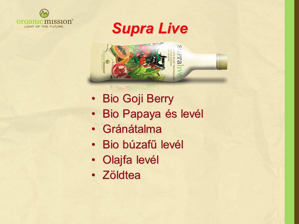 Supra Live Bio Goji Berry Bio Papaya és levél Gránátalma