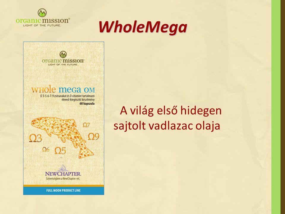 WholeMega A világ első hidegen sajtolt vadlazac olaja