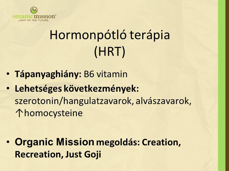 Hormonpótló terápia (HRT)