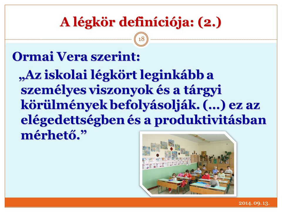 A légkör definíciója: (2.)