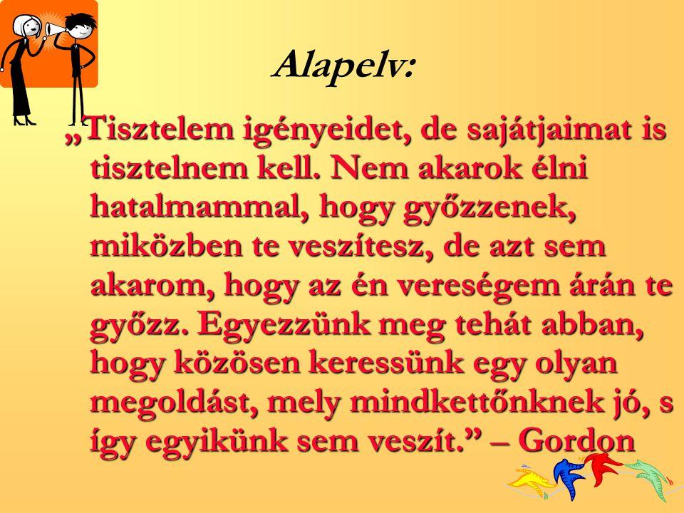 Alapelv:
