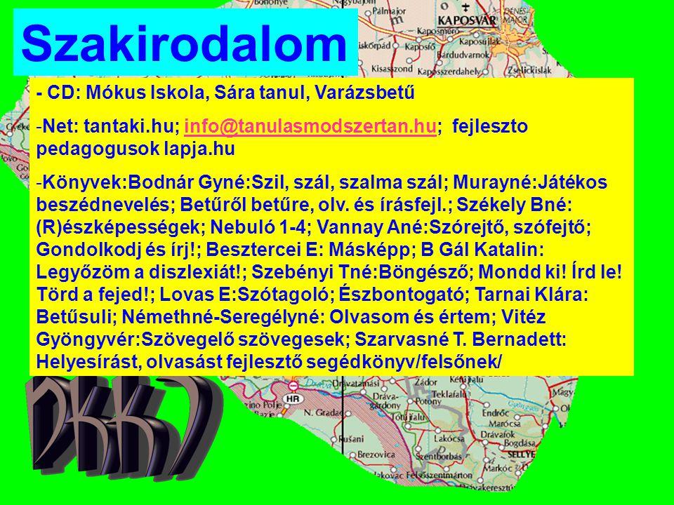 Szakirodalom - CD: Mókus Iskola, Sára tanul, Varázsbetű