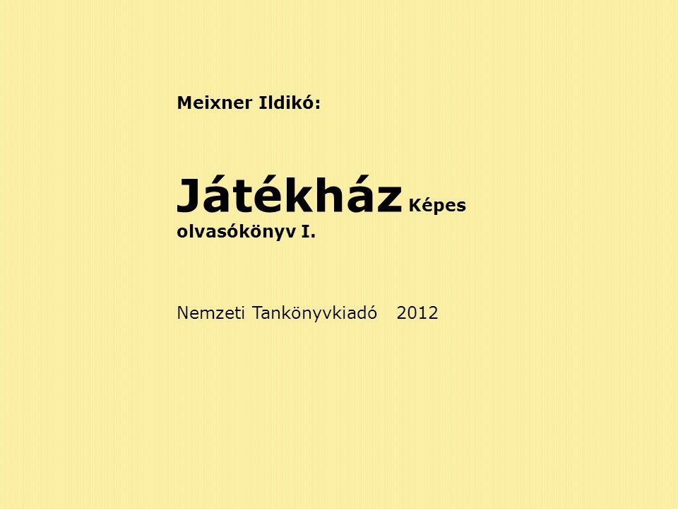 Játékház Képes olvasókönyv I.
