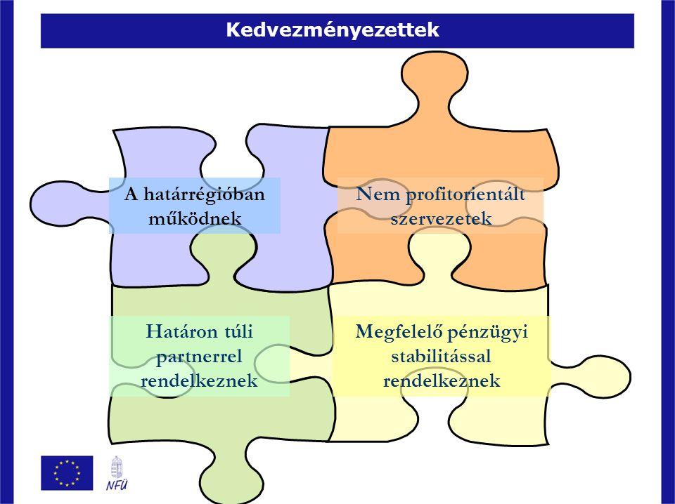 A határrégióban működnek Nem profitorientált szervezetek