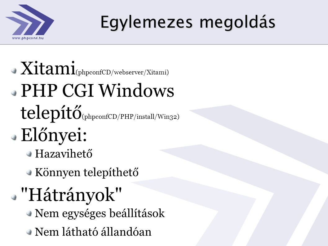 Xitami(phpconfCD/webserver/Xitami)