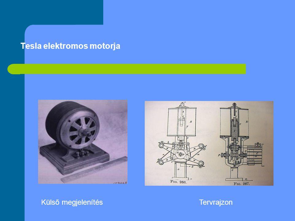 Tesla elektromos motorja