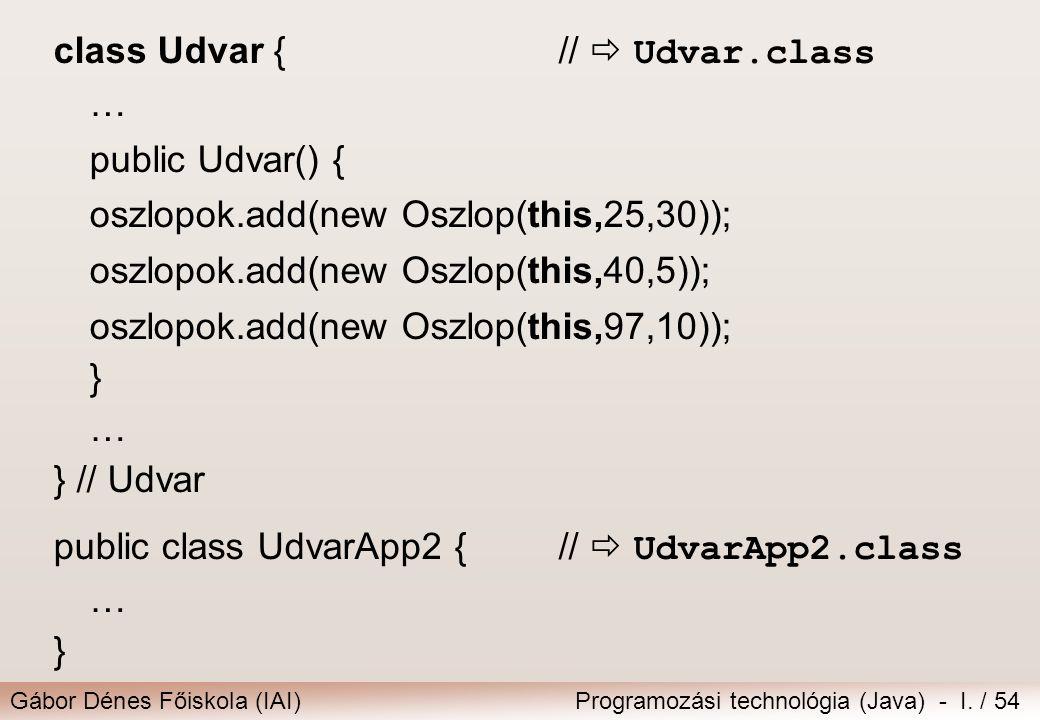 class Udvar { //  Udvar.class