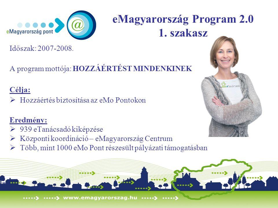 eMagyarország Program 2.0 1. szakasz