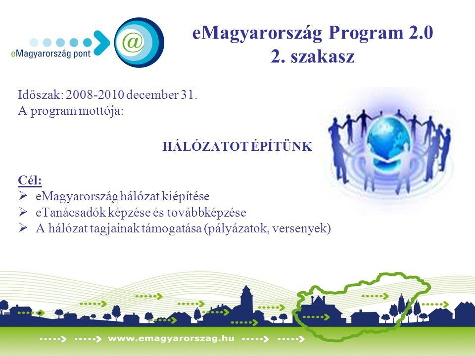 eMagyarország Program 2.0 2. szakasz