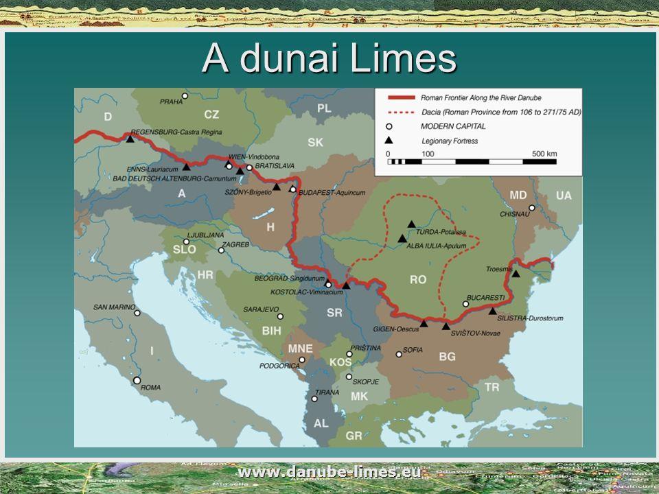 A dunai Limes www.danube-limes.eu