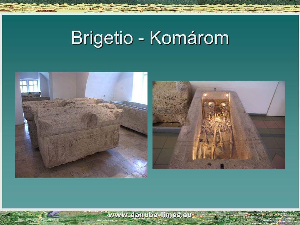 Brigetio - Komárom www.danube-limes.eu