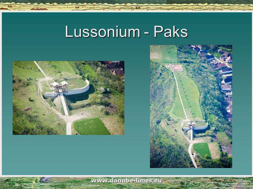 Lussonium - Paks www.danube-limes.eu
