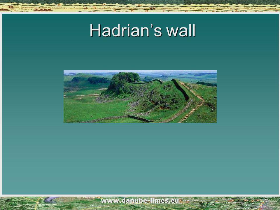Hadrian's wall www.danube-limes.eu