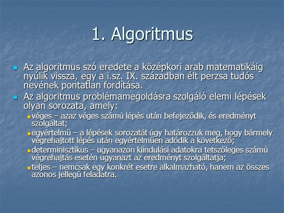 1. Algoritmus