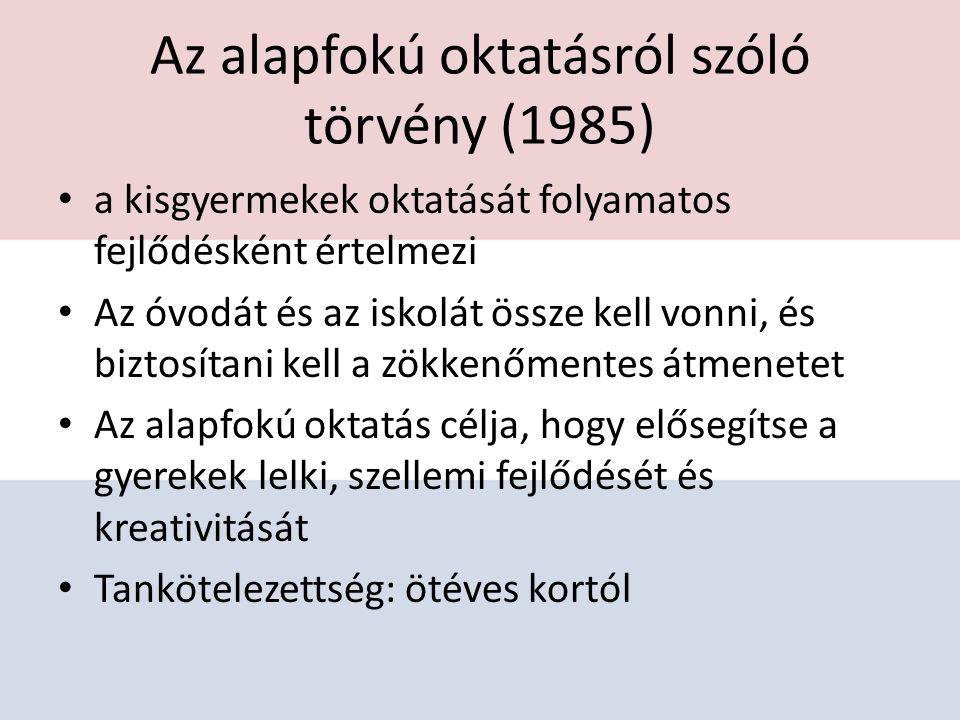 Az alapfokú oktatásról szóló törvény (1985)