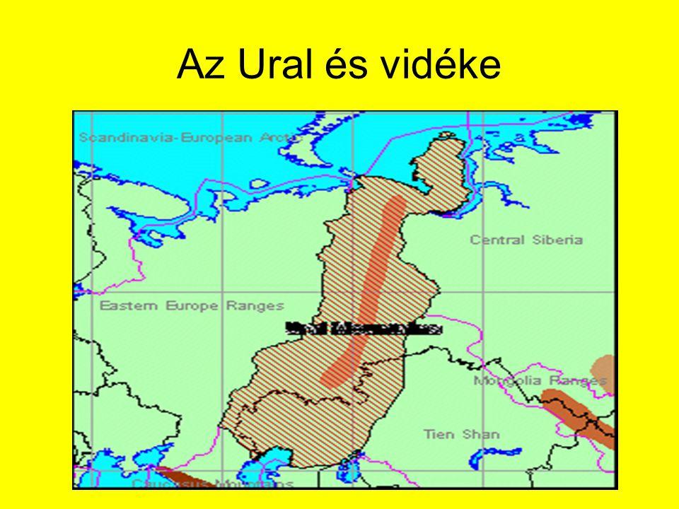 Az Ural és vidéke