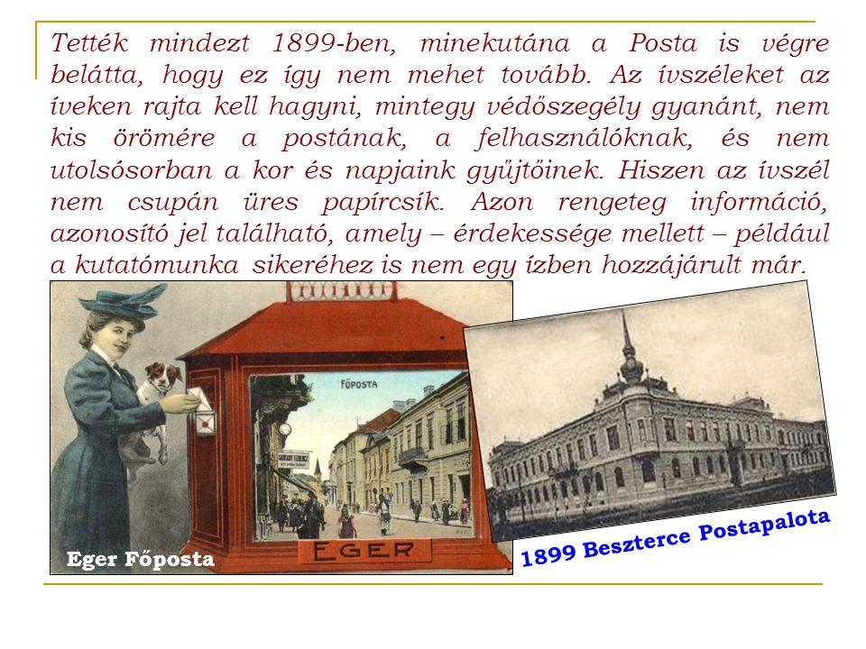 1899 Beszterce Postapalota