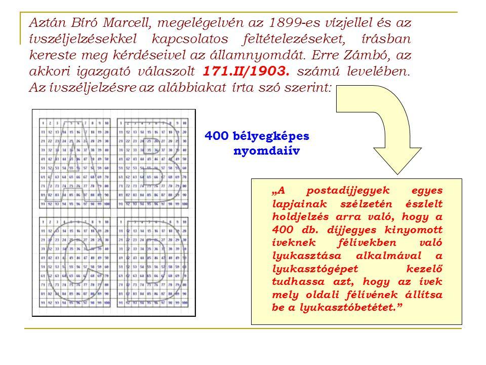 400 bélyegképes nyomdaiív