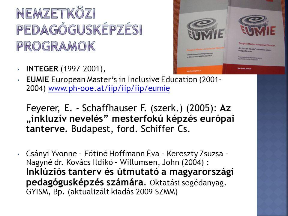 Nemzetközi pedagógusképzési programok