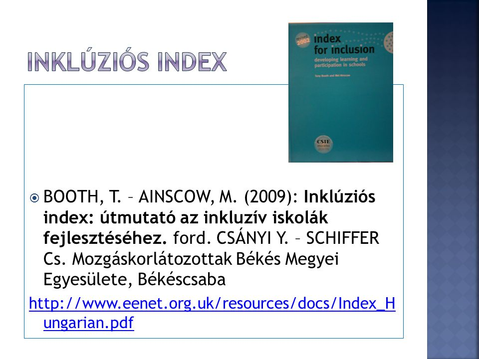 INKLÚZIÓS INDEX