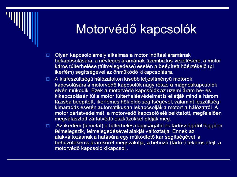 Motorvédő kapcsolók
