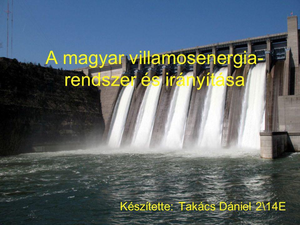 A magyar villamosenergia-rendszer és irányítása