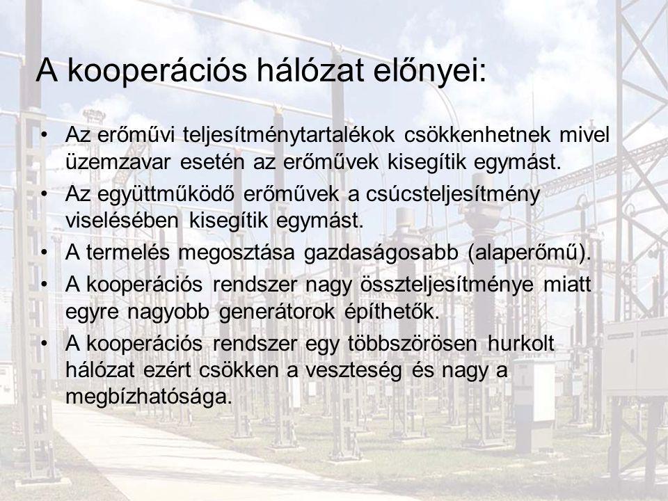 A kooperációs hálózat előnyei:
