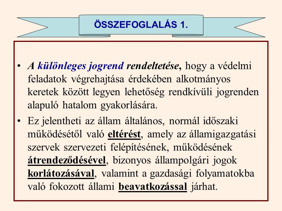ÖSSZEFOGLALÁS 1.