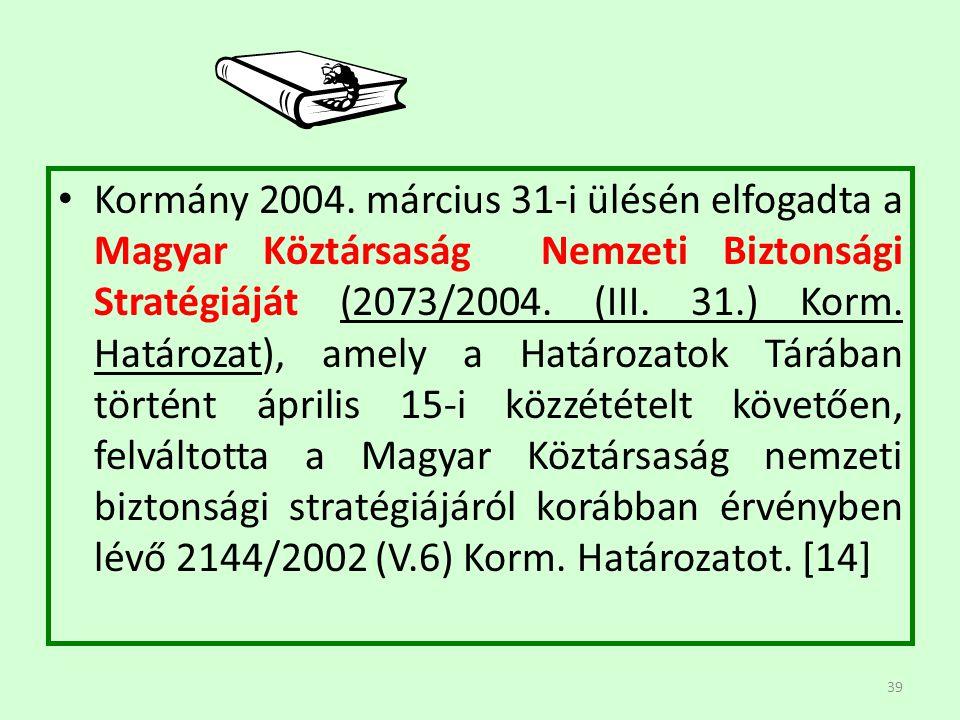 Kormány 2004.