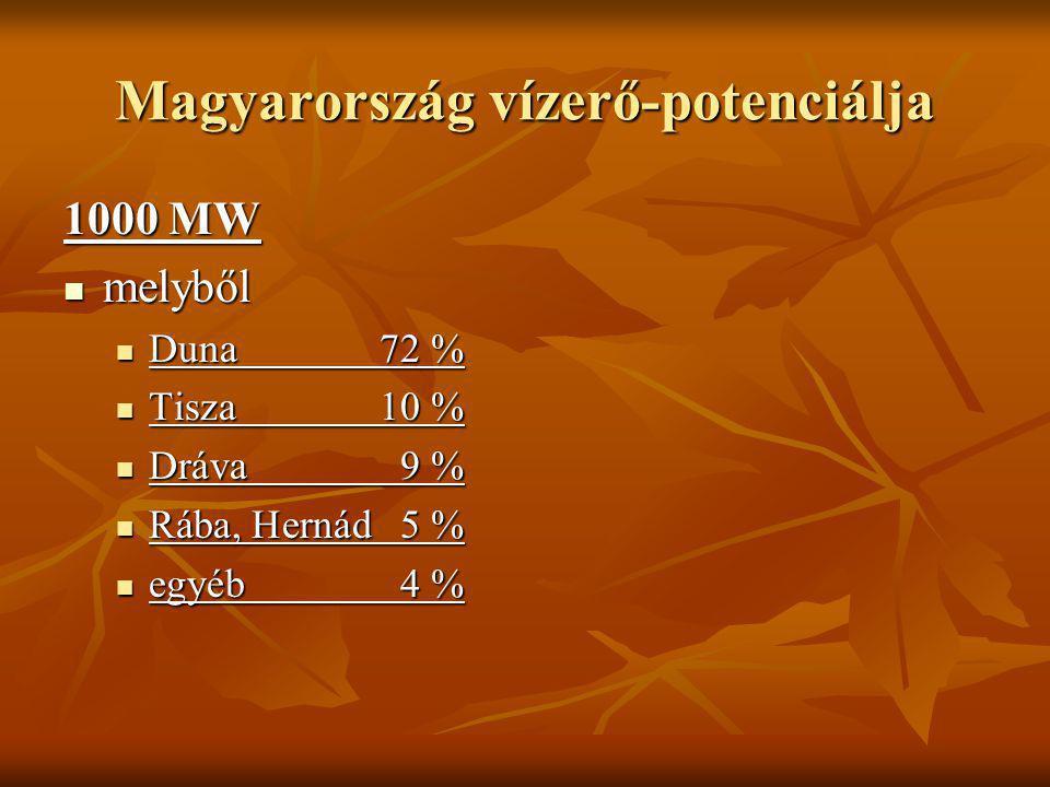 Magyarország vízerő-potenciálja