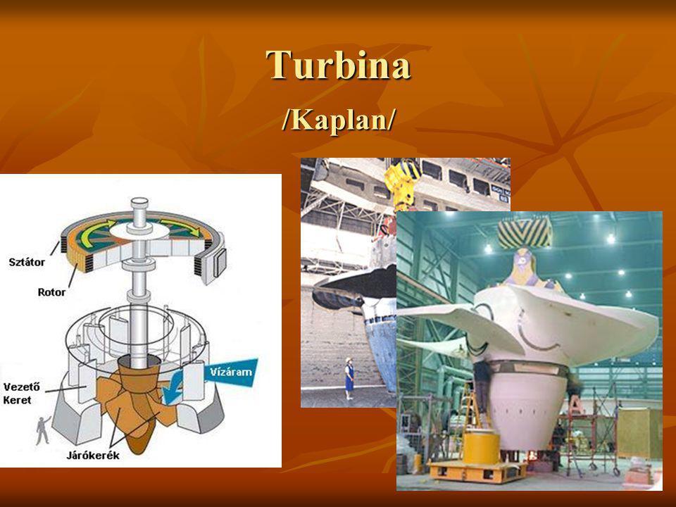 Turbina /Kaplan/