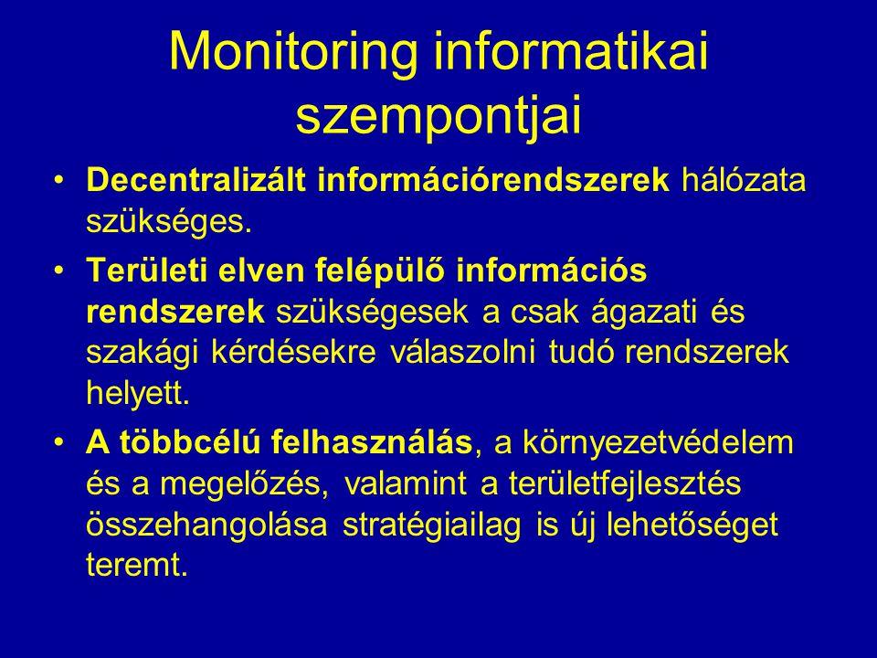 Monitoring informatikai szempontjai