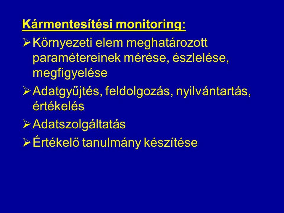 Kármentesítési monitoring: