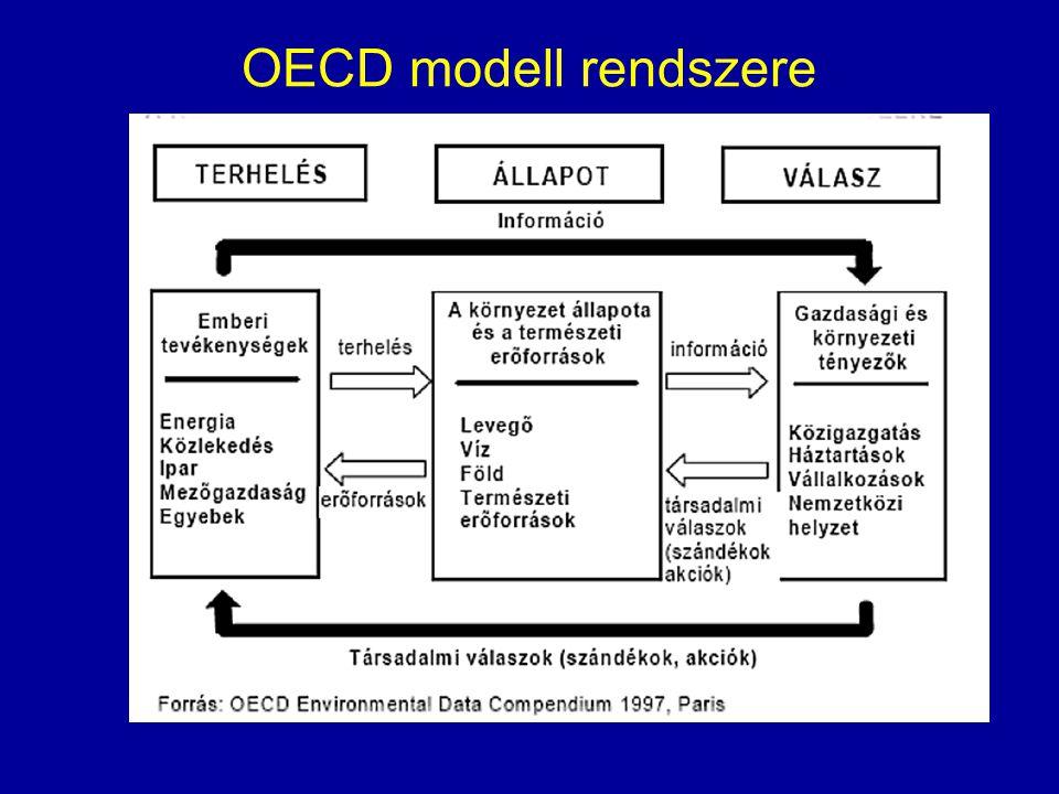 OECD modell rendszere