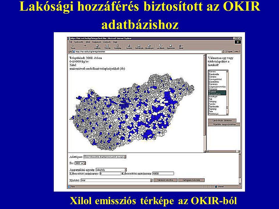 Lakósági hozzáférés biztosított az OKIR adatbázishoz