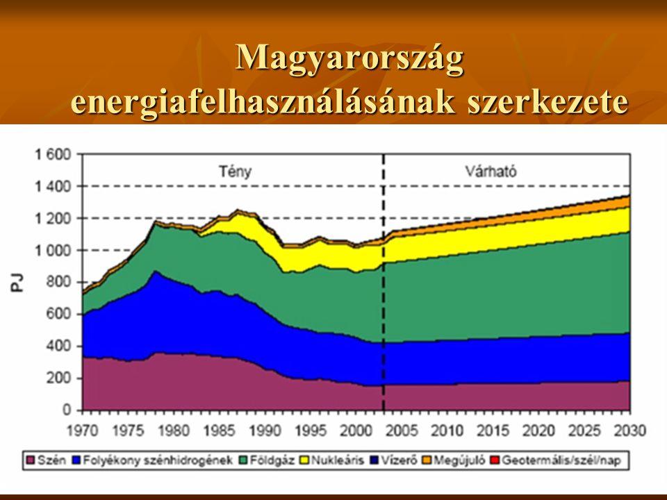 Magyarország energiafelhasználásának szerkezete