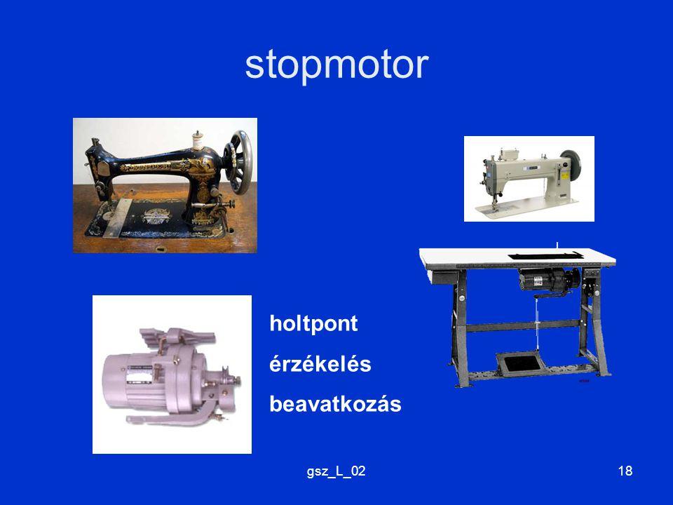 stopmotor holtpont érzékelés beavatkozás gsz_L_02