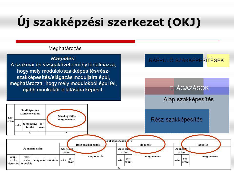 Új szakképzési szerkezet (OKJ)