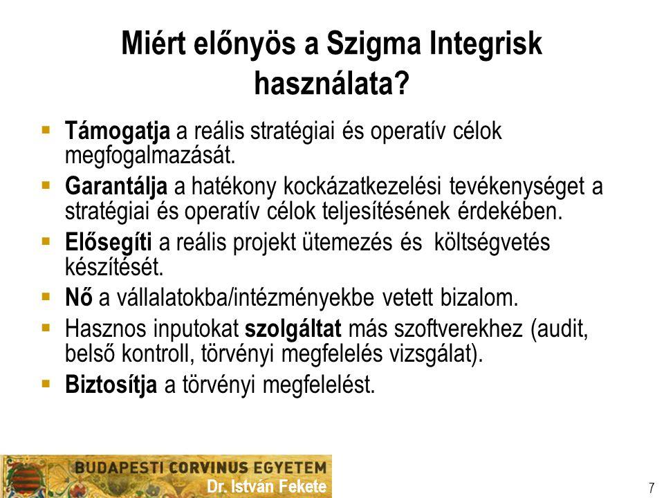 Miért előnyös a Szigma Integrisk használata