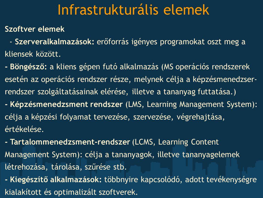 Infrastrukturális elemek