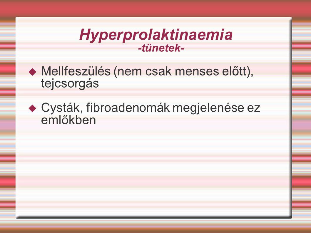 Hyperprolaktinaemia -tünetek-