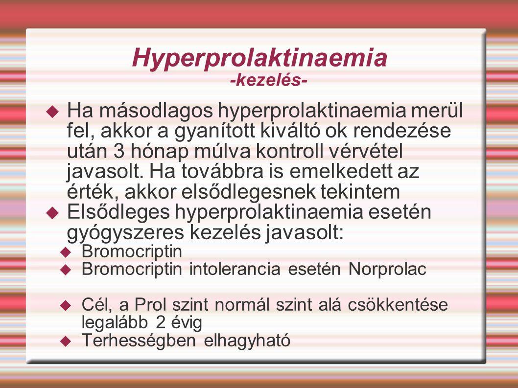 Hyperprolaktinaemia -kezelés-