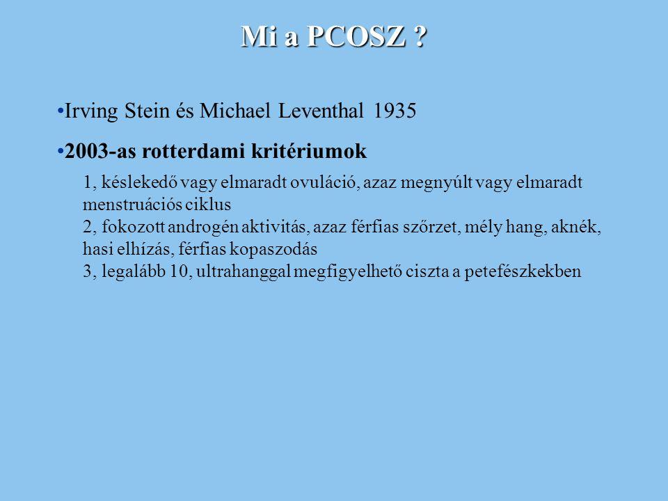 Mi a PCOSZ Irving Stein és Michael Leventhal 1935