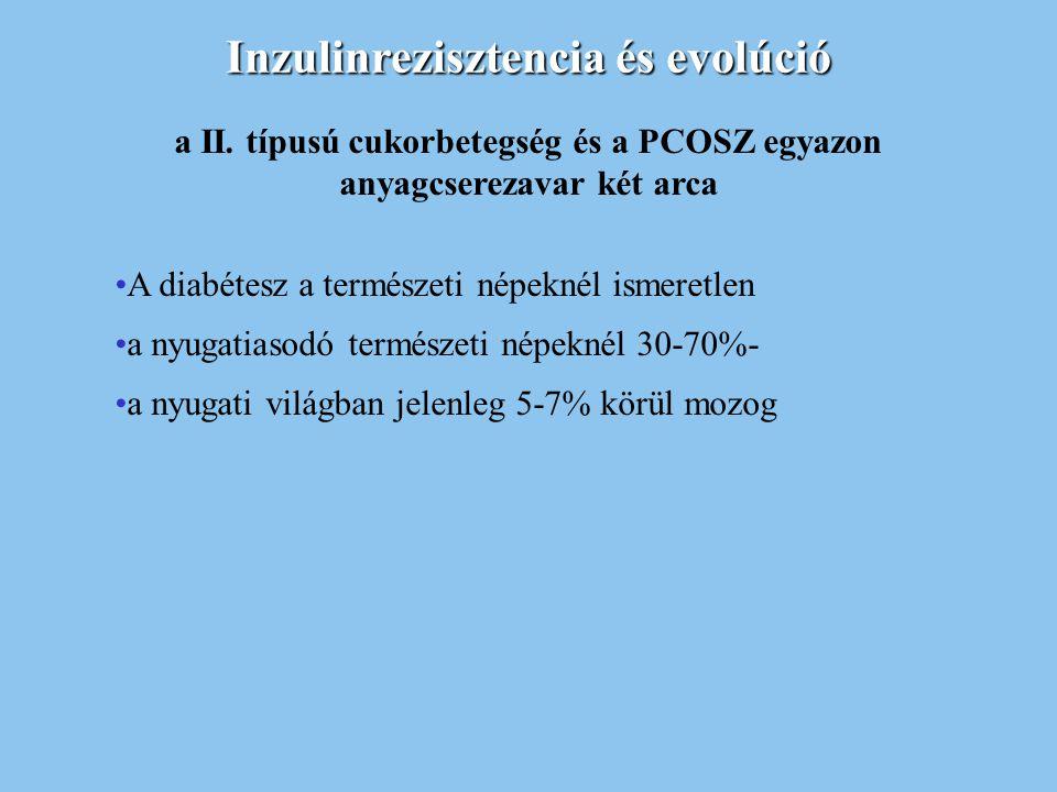 Inzulinrezisztencia és evolúció